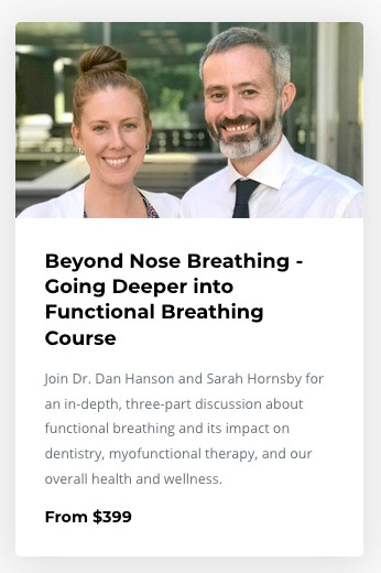 Functional Breathing course with Dr Dan Hanson and Sarah Hornsby